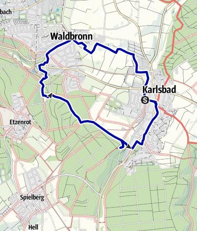 Karte / Kleine Vesperrunde