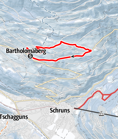 Map / Bartholomäberg - Chrestlis Egg