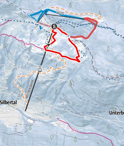 Karte / Kleine Kristberg Runde