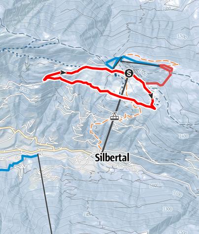 Karte / Große Kristberg Runde