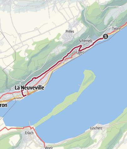 Map / Auf Pilger- und Rebenwegen