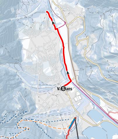 Map / Vandans - Kapelle Venser Bild