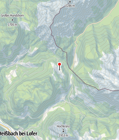 Karte / Litzlalm