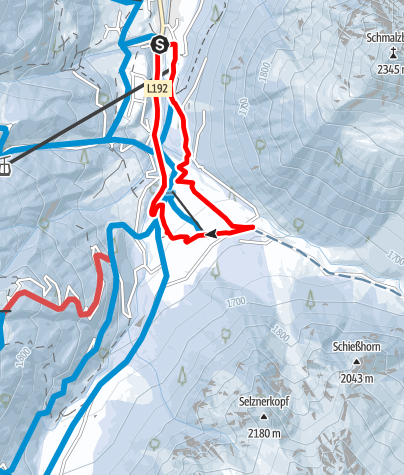 Map / Vergaldner Rundwanderweg
