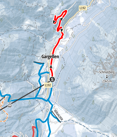 Map / Hochplateau Röbi