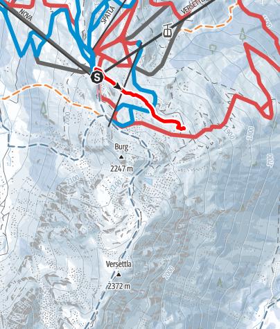 Kaart / Vier Barga