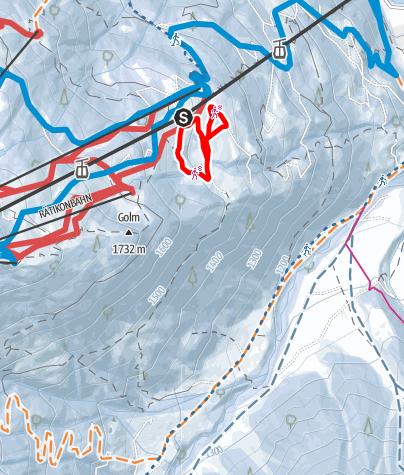 Map / Matschwitzer Maiensäßweg