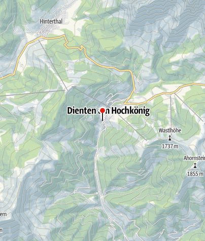 Karte / Restaurant Hotel Hochkönig