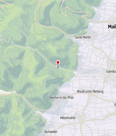 Karte / Waldgaststätte Zur Siegfriedsschmiede