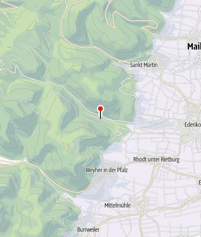 Kaart / Waldgaststätte Zur Siegfriedsschmiede