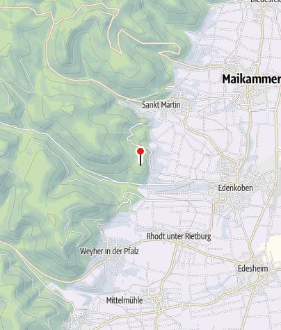 Map / Waldgaststätte am Friedensdenkmal