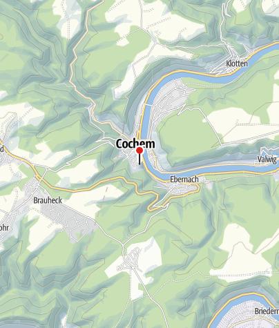 Karte / Reichsburg Cochem