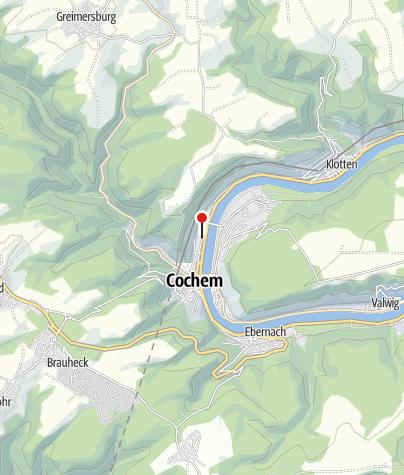 Carte / Bahnhof Cochem (Mosel)