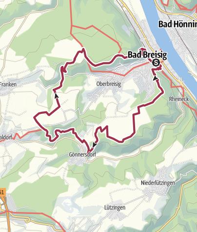 Map / Breisiger Ländchen