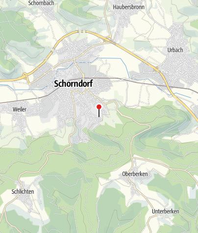 Karte / Gästehaus Moritz