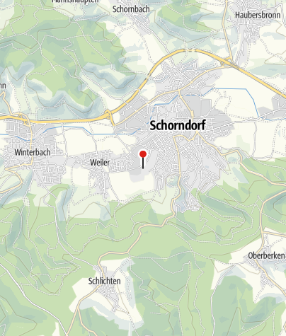 Karte / Wohnmobilstellplatz am Oskar Frech SeeBad