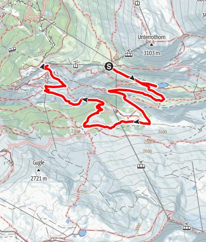 Carte / Sentier des 5 lacs (Nr. 11)