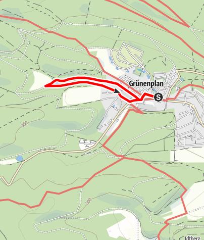 Karte / Glasebachweg (Gr 7)
