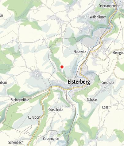 Karte / Waldbad Elsterberg