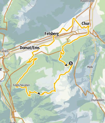 Karte / Dreibündenstein (Lady Patricia)
