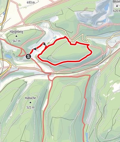 Map / Blindenwanderweg