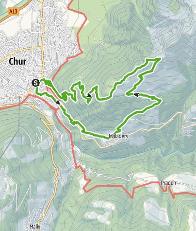 Map / Fürhörnli / Montalin
