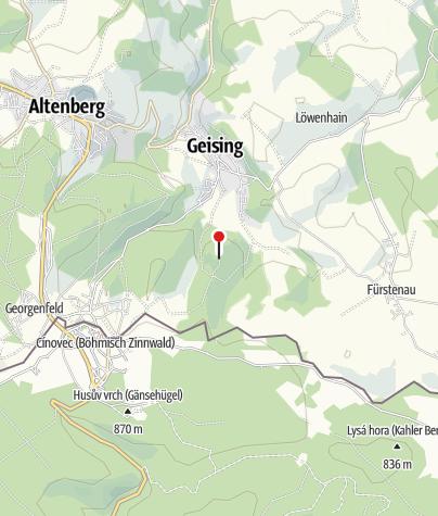 Karte / Bergbaude Kohlhaukuppe