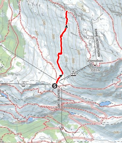Map / Zermatt Panorama Trail (Nr. 9)