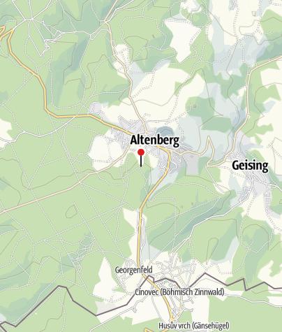 "Karte / Waldschänke ""Altes Raupennest"""