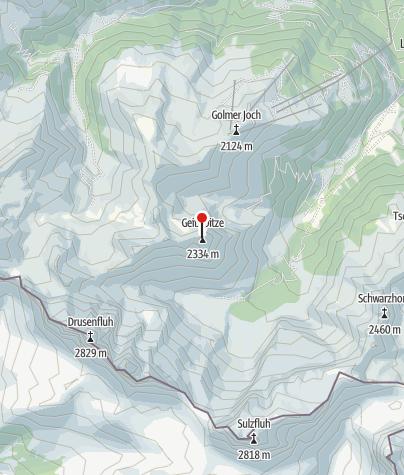 Karte / Geißspitze (2.334 m)