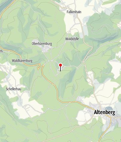 Karte / Rennschlitten- & Bobbahn ENSO-Eiskanal