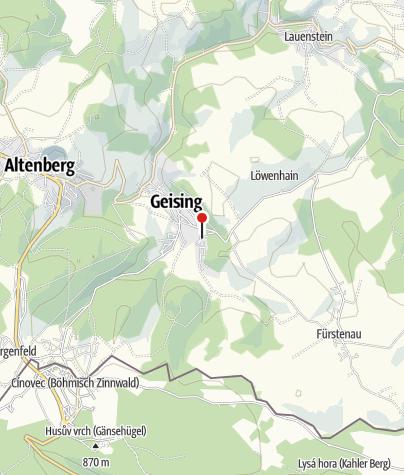 """Karte / """"Am Schauhübel"""""""