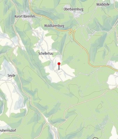 Karte / Botanischer Garten Schellerhau