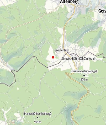 Karte / Georgenfelder Hochmoor