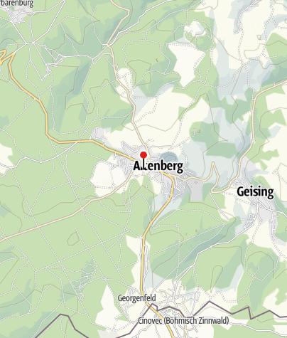 Karte / Skischule Osterzgebirge