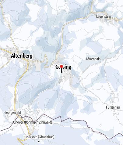 Karte / Skilift Geising