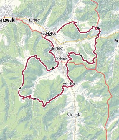 Karte / Geroldsecker Qualitätsweg