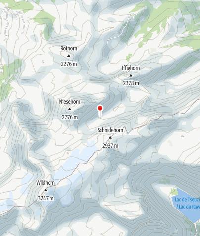Kaart / SAC Hütte - Wildhornhütte