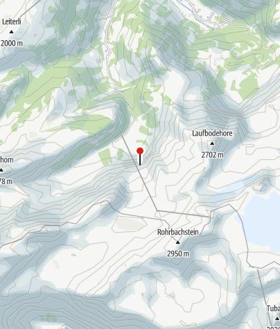Kaart / Schutzhütte Blatti - Lenk