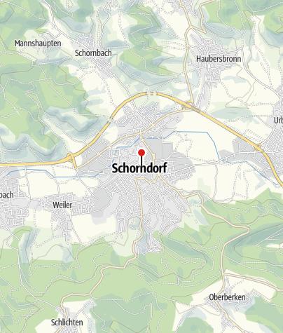 Karte / Gottlieb-Daimler-Geburtshaus