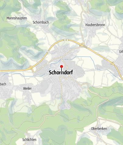 Karte / Ehemaliger Konstanzer Hof
