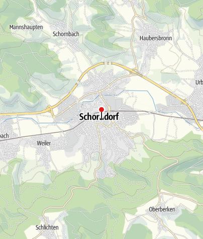 Karte / Ehemaliges Spital