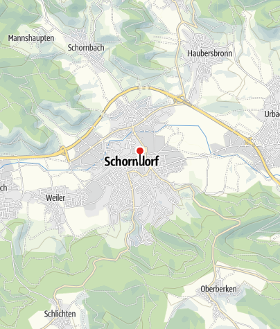 Karte / Ehemaliges Jagdschloss/Obervogtei