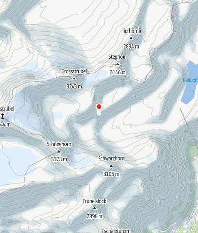 Kaart / SAC Hütte - Lämmerenhütte