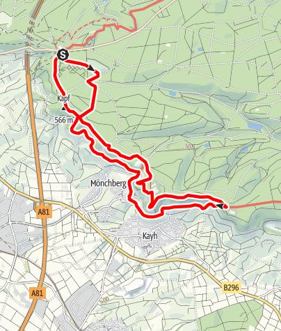 Karte / Land.Tour SchönbuchTrauf