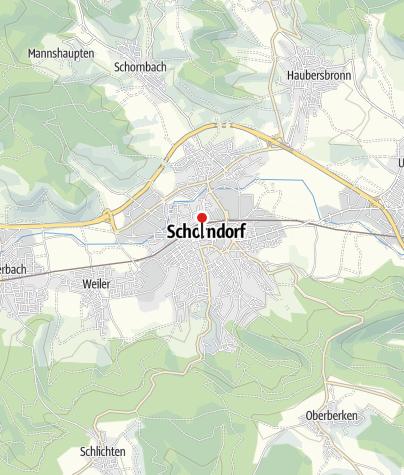 Karte / Ehemalige Vogtei