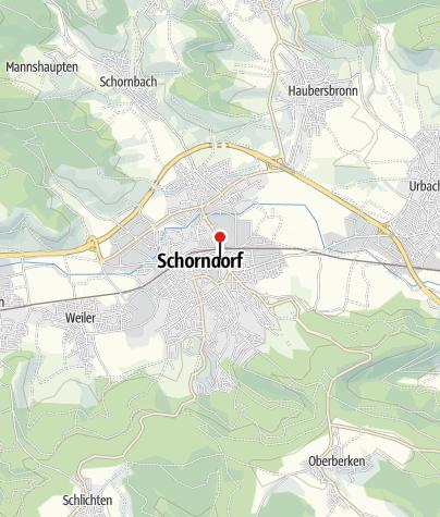 Karte / Q Galerie für Kunst Schorndorf