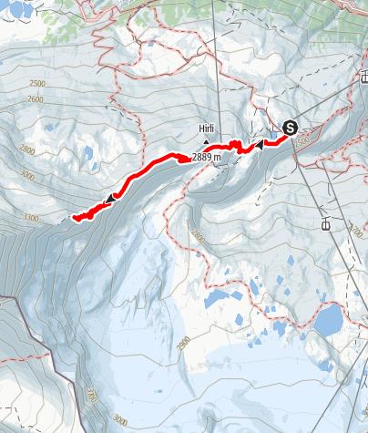Carte / Sentier de l'Hörnli (Nr. 27)