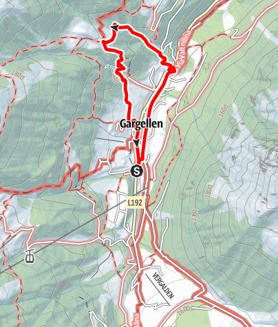 Map / via ferrata Röbischlucht