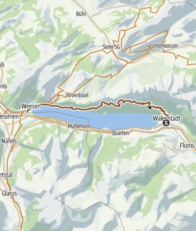 Map / 479 Churfirsten Panoramabike